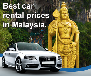 Compare car rental prices in Malaysia