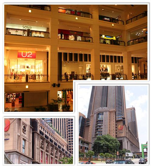 Berjaya Times Square Bts Shopping Mall In Kuala Lumpur