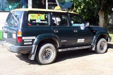 Toyota Landcruiser for Borneo tour
