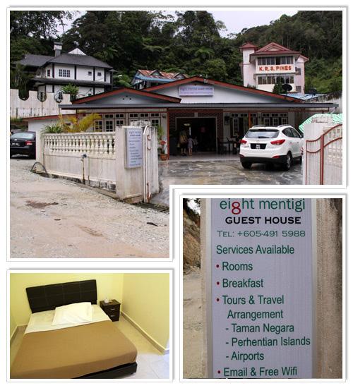 8Mentigi Guesthouse Cameron Highlands