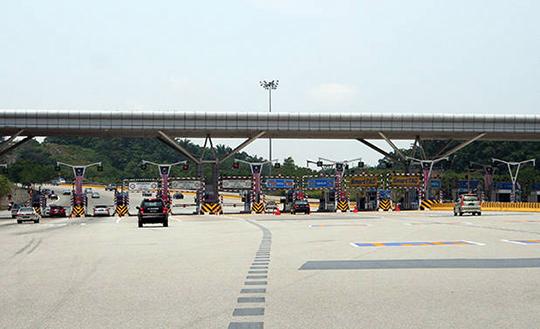 Toll road in Malaysia 1