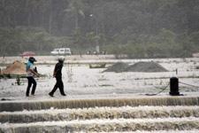 Heavy rain during monsoon season 1