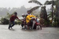 Heavy rain during monsoon season 2