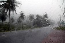 Weather forecast says it always rains
