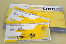Aeroline bus tickets