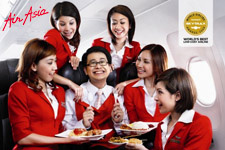 AirAsia budget airliner