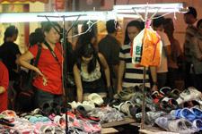 Buying stuff at night markets