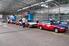 Taxi line at KL Sentral