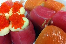 Fresh sushi in Malaysia