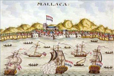 Malacca was an important port
