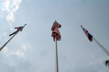Merdeka Square flag pole
