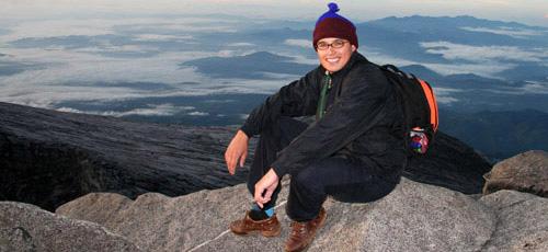 Ilya Houben summit Mount Kinabalu