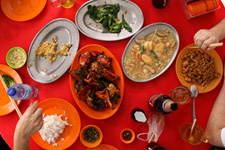 Typical Ketam dishes
