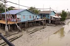 Houses at Ketam Island