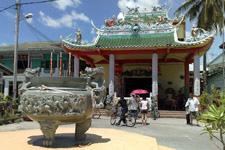 Temple at Ketam Island
