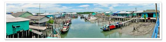 Ketam Island Panorama 2