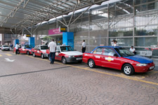 Budget taxi stand at KL Sentral