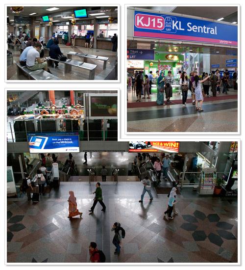 KL Sentral train station Kuala Lumpur