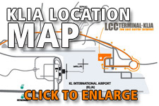 Map KLIA location