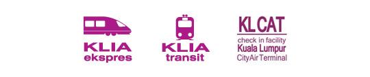 KLIA Express Transit CAT logos