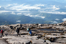Mount Kinabalu summit trail