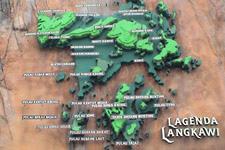 Lagenda Park Langkawi map