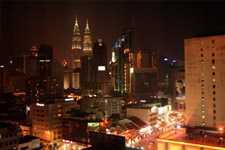 Bukit Bintang area by night 2