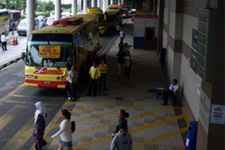 Bus to KLIA from KL Sentral 3