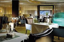 Fine dining at Lafite restaurant