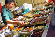 Food at a hawker in Kuala Lumpur