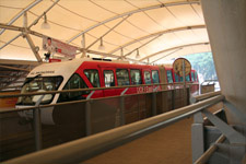 Monorail station in Kuala Lumpur 1