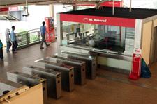 Monorail station in Kuala Lumpur 2