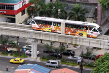 Monorail along Jalan Sultan Ismail
