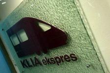 KLIA Express train sign