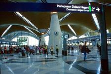 KLIA at level 3 departures