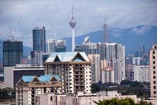 Kuala Lumpur skyline from Kerinchi