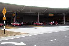 Taxis waiting at LCC Terminal