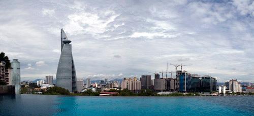Kuala Lumpur view over the city
