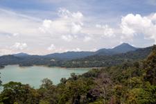 Stunning views over Lake Kenyir