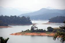 View from Lake Kenyir Resort