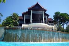 From pool Lake Kenyir Resort