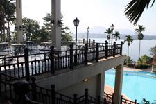 View during breakfast at Lake Kenyir Resort