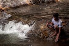 Lasir Waterfall Lake Kenyir