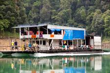 House boat at Lake Kenyir