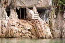 Entrace Taat Cave at Lake Kenyir