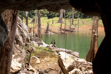 View from Taat Cave