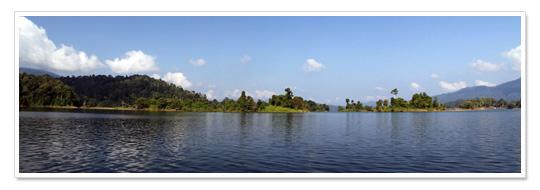 Lake Kenyir Panorama 3