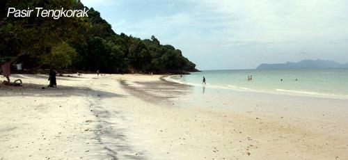 Tengkorak beach Langkawi
