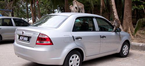 Renting a car on Langkawi