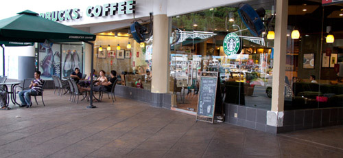 Starbucks at Jetty Point Langkawi